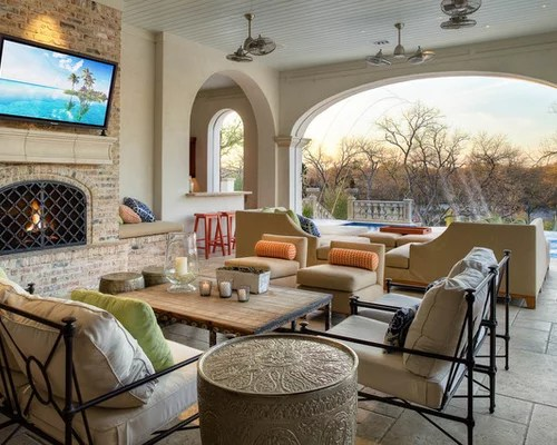 Outdoor Living Room | Houzz on Houzz Outdoor Living Spaces id=26718
