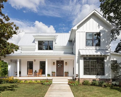 Farmhouse Two Story Exterior Design Ideas Pictures