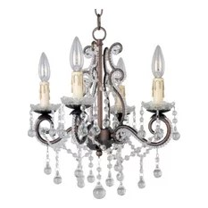 Maxim Lighting International 20054oi Katherine 4 Light Mini Chandeliers In Oil Rubbed
