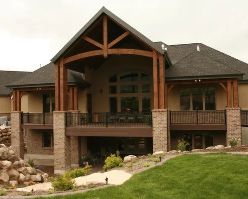 Covered Deck Designs Ideas, Pictures, Remodel and Decor on Covered Back Deck Designs id=65773