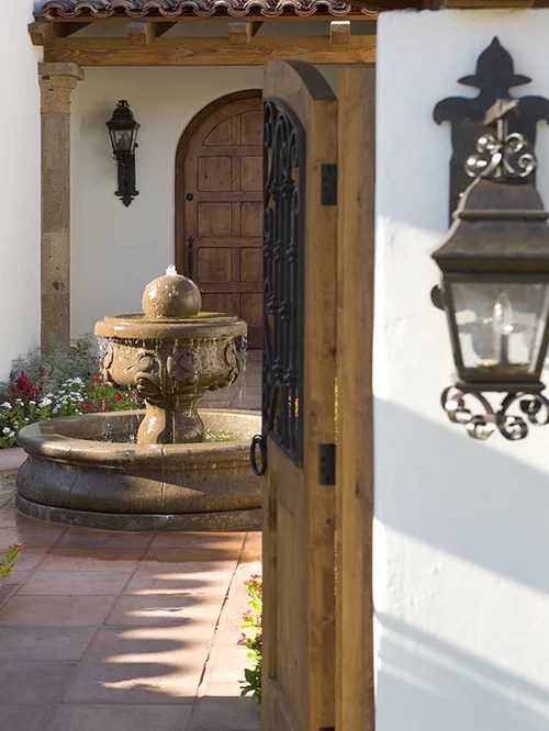 Mexican Fountain Houzz