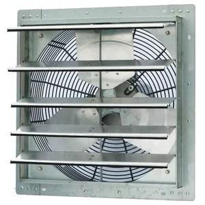 crawl space shutter fan exhaust fan 3