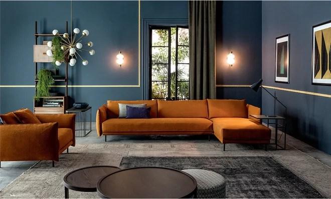 Contemporary Living Room by Meubles et Atmosphère