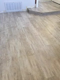 show me your wood look porcelain tile