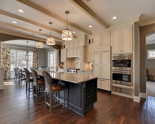 Cream And Grey Kitchen Home Design Ideas Renovations Amp Photos