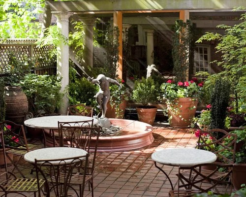 Courtyard Garden Design Home Design Ideas, Pictures ... on Courtyard Patio Ideas id=47116