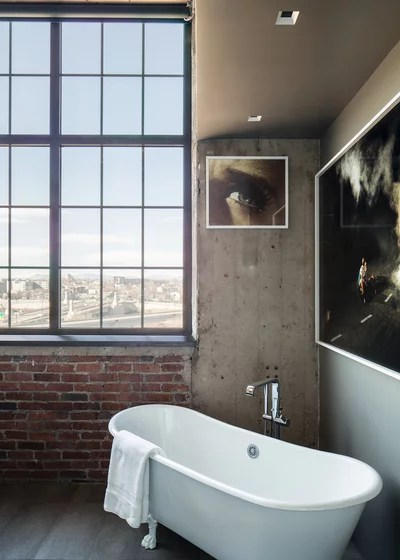 Industrial Bathroom by Studio Gild