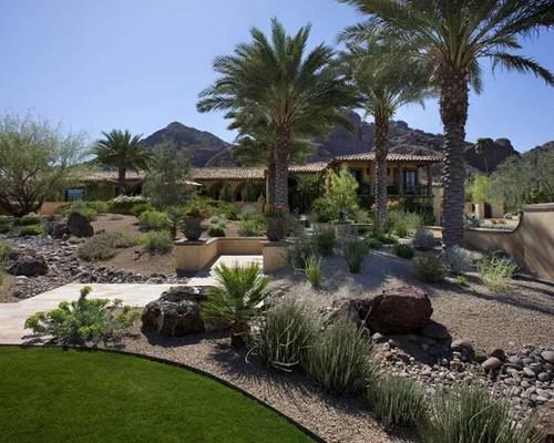 Backyard Desert Landscaping | Houzz on Desert Landscape Ideas For Backyards id=88399