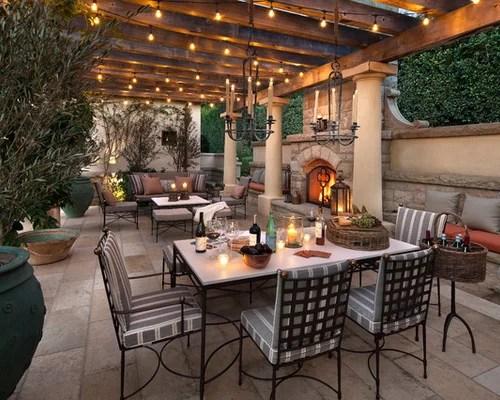 Outdoor Dining Room Ideas | Houzz on Backyard Dining Area Ideas id=16045