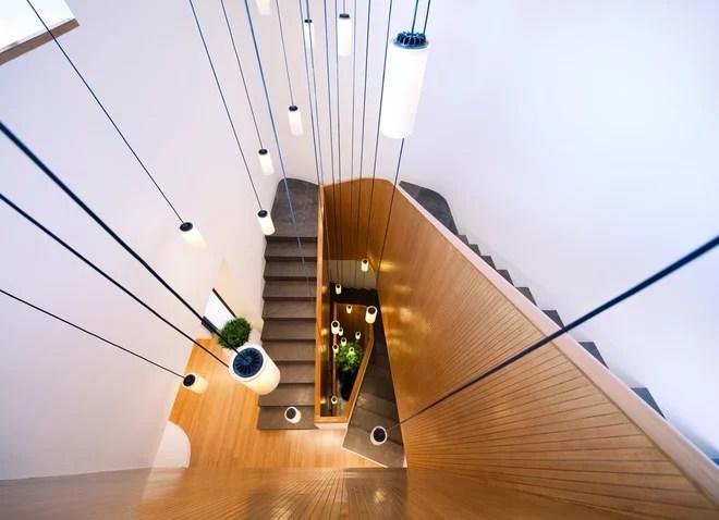 Contemporáneo Escalera by AGI Architects