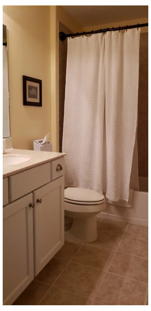 shower curtain for a small bathroom