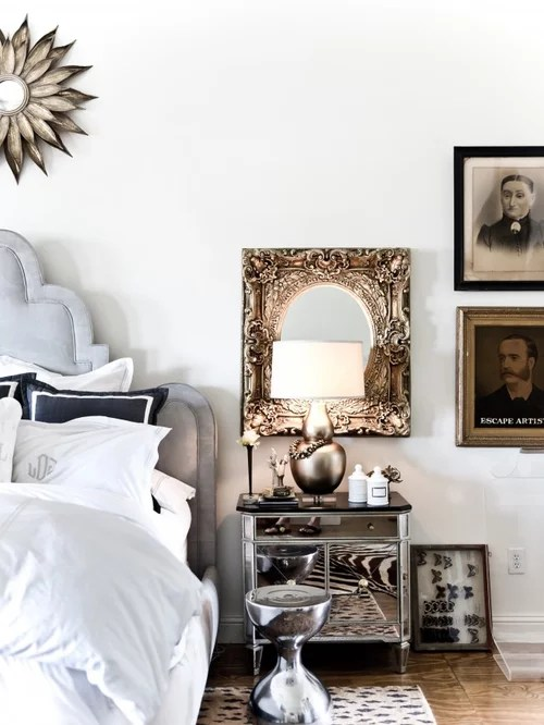 Bedroom Decorating Master Ideas With Wallpaper And Chandelier