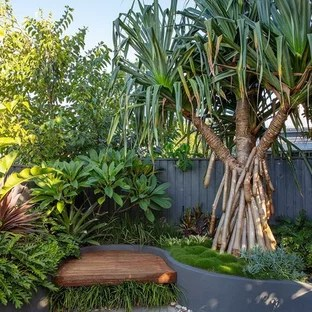 75 Beautiful Tropical Landscaping Pictures & Ideas | Houzz on Tropical Backyard Landscaping Ideas  id=11252