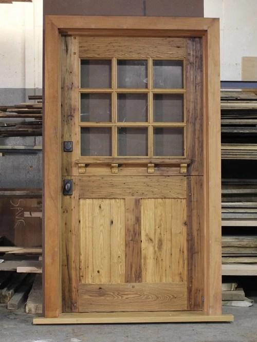 Custom Antique Chestnut Dutch Door