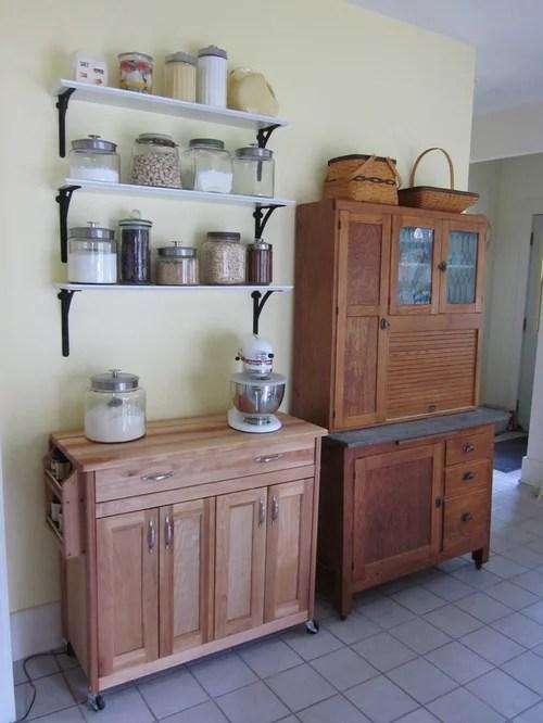 White L Shaped Kitchen