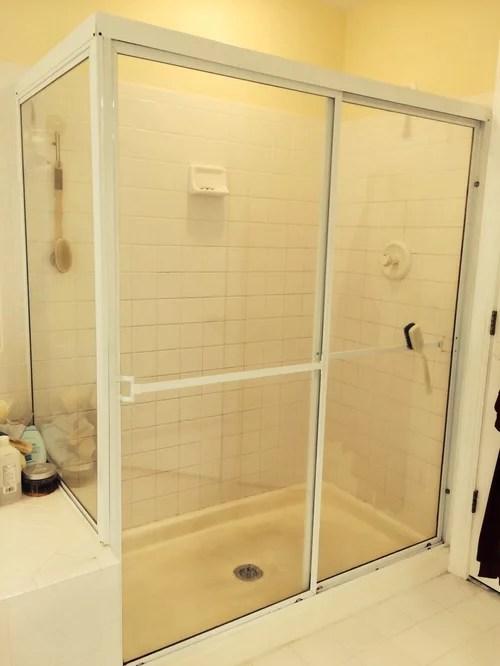 considering tile vs acrylic shower pan