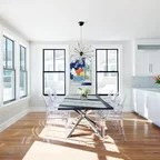 Various Projects Beach Style Dining Room New York