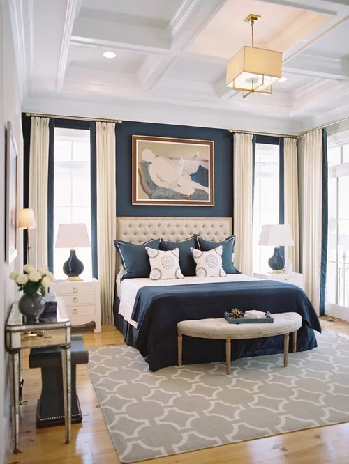 Bedroom Design Ideas Remodels Amp Photos With Blue Walls