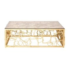 Monterey Cocktail Table Gold