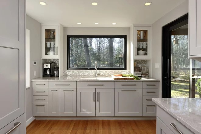 Transitional Kitchen by Design Studio International