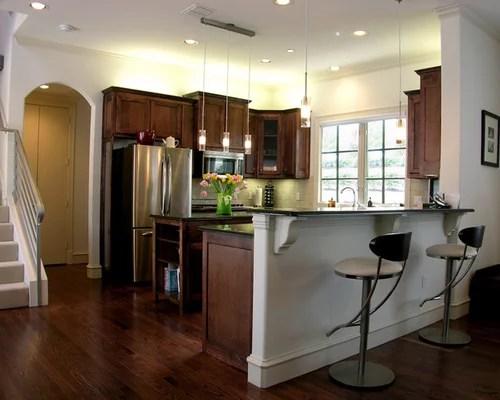 L Shaped Kitchen Peninsula