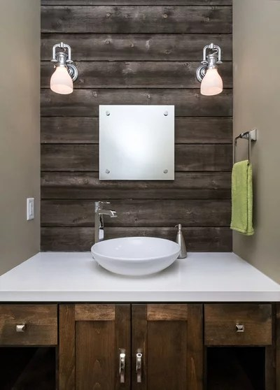 Contemporary Bathroom by Jordan Iverson Signature Homes