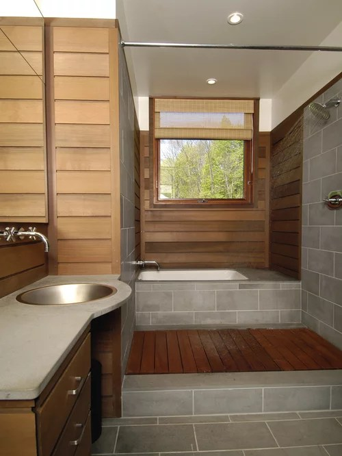 Teak Bathroom Houzz