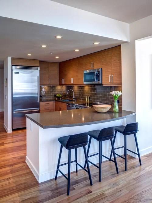 Best Small Modern Kitchen Design Ideas & Remodel Pictures ... on Modern Kitchen Remodel  id=14624