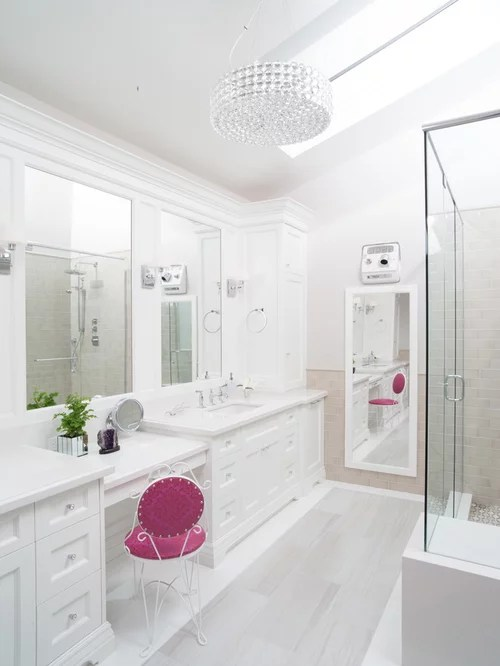 White Bathroom Home Design Ideas, Pictures, Remodel and Decor on White Bathroom Design Ideas  id=12830