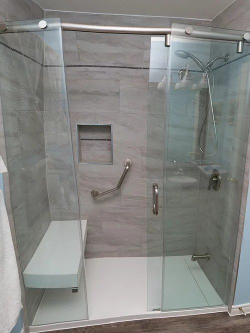 Corian Solid Surface Showers