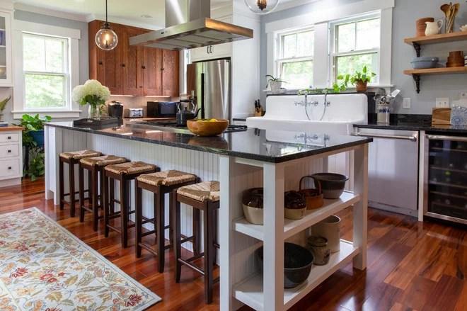 Farmhouse Kitchen by Lavender & Lotus Interior Design