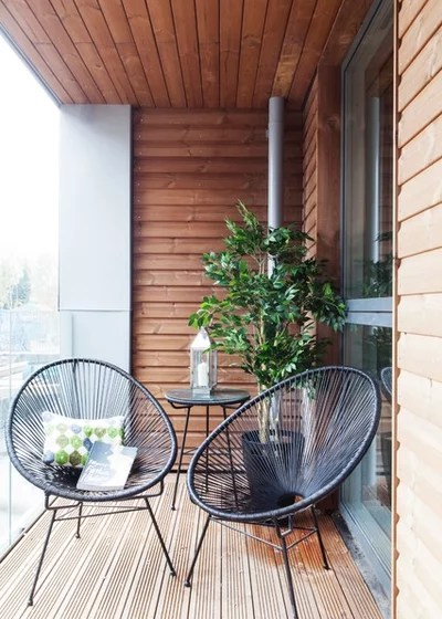 Contemporary Balcony by Studio Morton