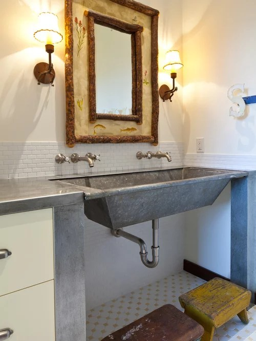 Galvanized Sink Home Design Ideas Pictures Remodel And Decor