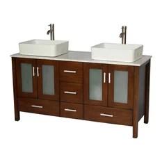58 inch bathroom vanities