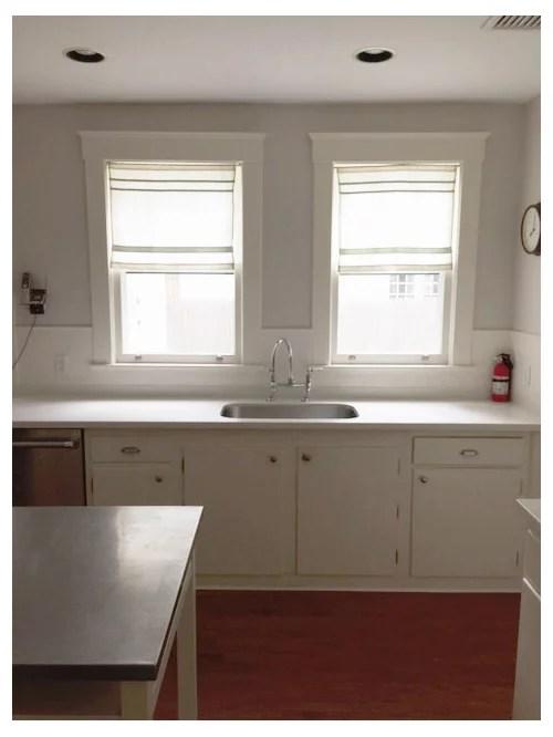 pendant lighting above kitchen sink counter