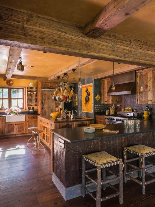 Rustic Wood Ceiling Beams Ideas Pictures Remodel And Decor