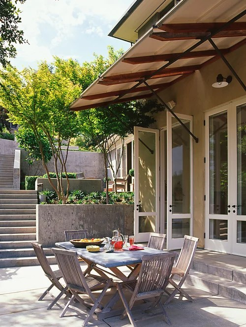 Awning Overhang Ideas, Pictures, Remodel and Decor on Backyard Overhang Ideas  id=74188