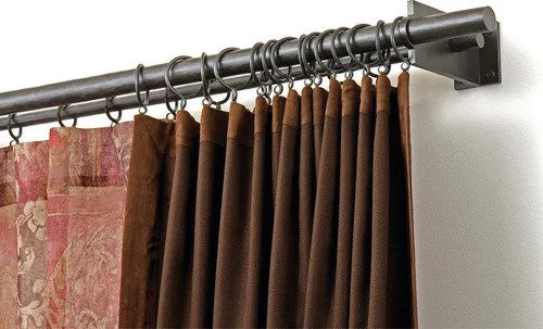 double rod systems to hang curtains