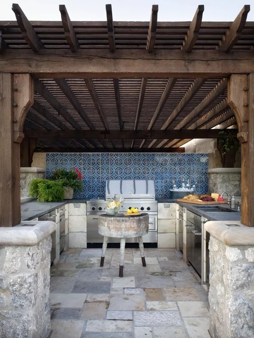 Outdoor Grill Areas | Houzz on Patio Grilling Area  id=93499
