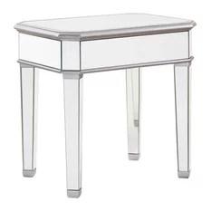 Chamberlan Clear Mirror Lamp Table