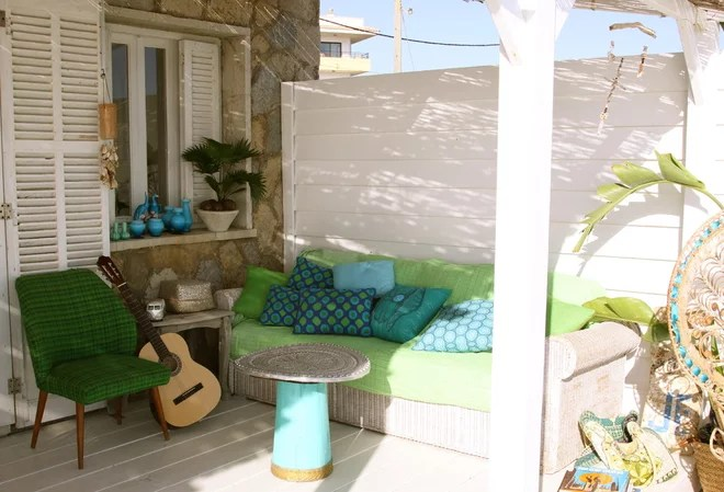 Mediterranean Porch by carde reimerdes
