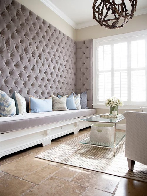 Tufted Walls Houzz