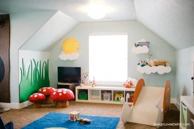 woodland play room