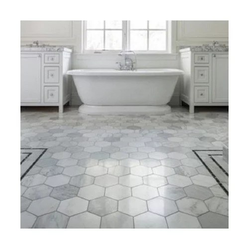 large format hex tile