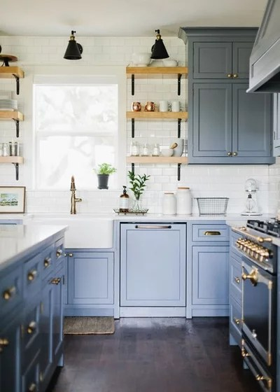 Traditional Kitchen by 13thirty Designs
