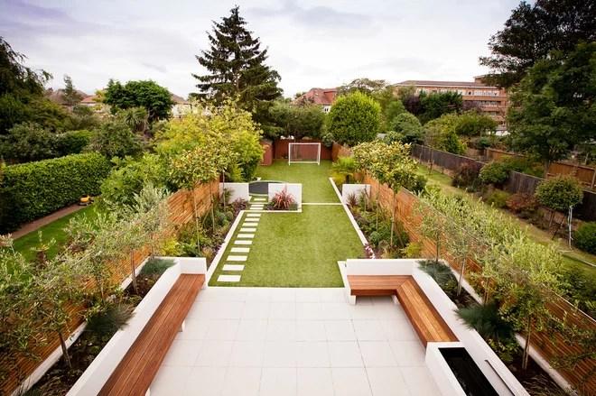 Contemporary Landscape by Habitat London