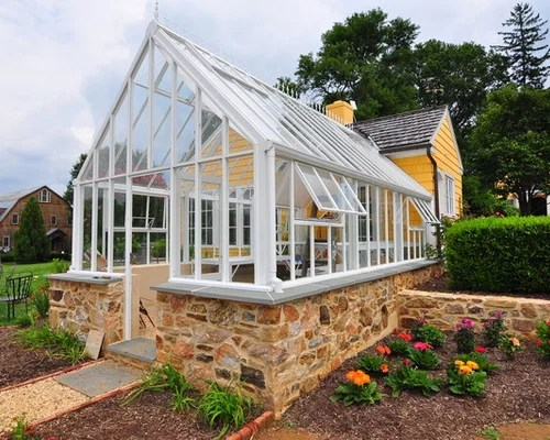 Attached Greenhouse Home Design Ideas Pictures Remodel