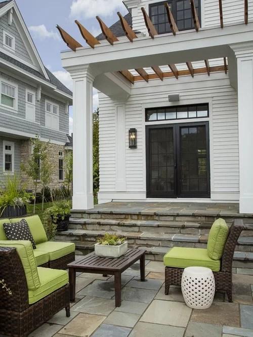 Back Door Steps Design Ideas & Remodel Pictures | Houzz on Backdoor Patio Ideas id=93510
