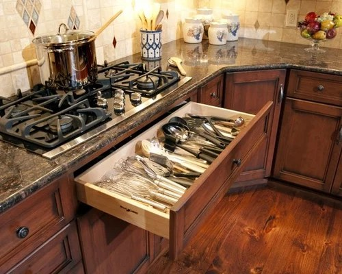 Drawers Under Cooktop Houzz
