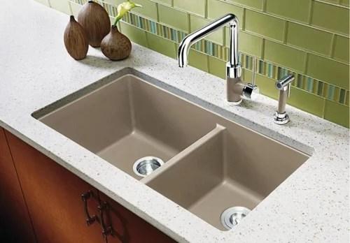blanco silgranit undermount sink with
